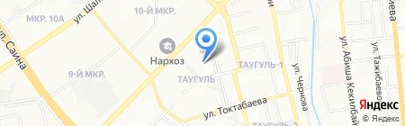 Бастау продуктовый магазин на карте Алматы