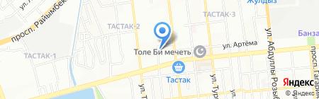 ИФС на карте Алматы