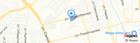 КазГАСА на карте Алматы