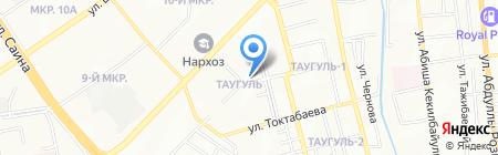 Нотариус Данчева В.А. на карте Алматы