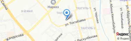 Общеобразовательная школа №127 на карте Алматы