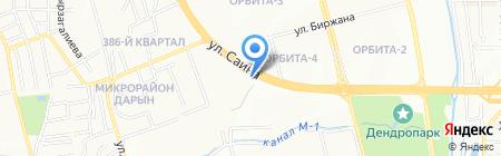 Joint Drilling ТОО на карте Алматы