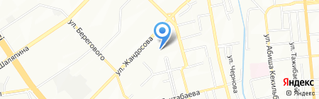 Ардак продуктовый магазин на карте Алматы