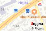 Схема проезда до компании TasTam Makroline в Алматы