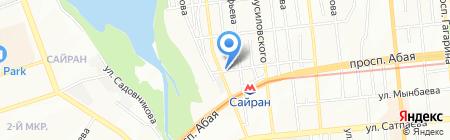 РЕСИН ПЛЮС KZ на карте Алматы