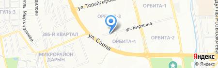 Ак Ерке на карте Алматы
