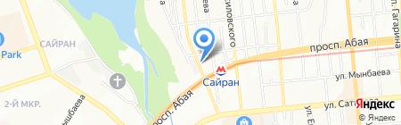 Леди zig-zag на карте Алматы