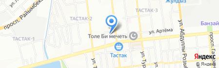 Laura на карте Алматы