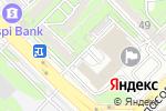 Схема проезда до компании Хижина в Алматы