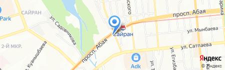 Шашлычный дворик на карте Алматы