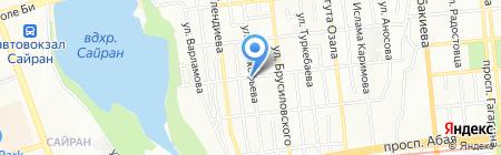 Сейхун на карте Алматы