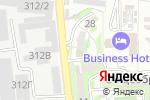 Схема проезда до компании Tessa в Алматы