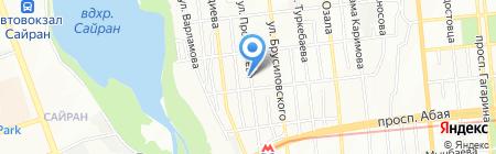 Вощина от Жанны на карте Алматы