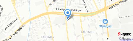 АС Дари на карте Алматы