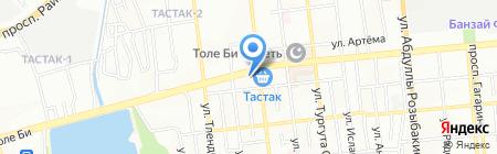 У Гули на карте Алматы
