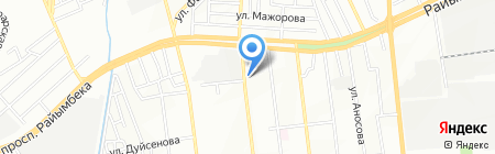 А А на карте Алматы