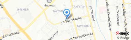 Ар-Ай на карте Алматы