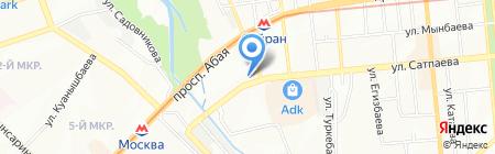Subaru на карте Алматы