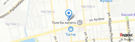 Riki-Tiki на карте Алматы