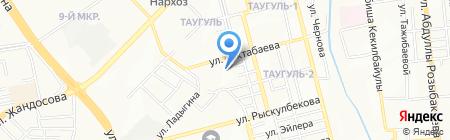 Е-23 на карте Алматы