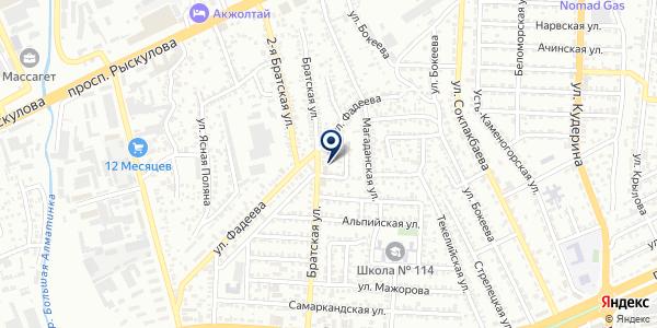 IdealSolution на карте Алматы