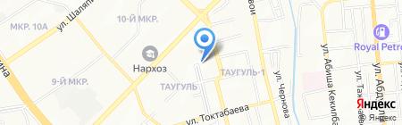 БИО на карте Алматы