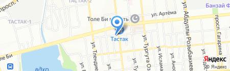 Хилти Казахстан на карте Алматы