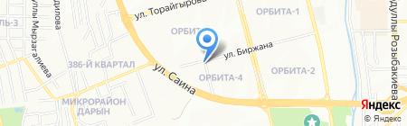 Шоколадный фонтан на карте Алматы