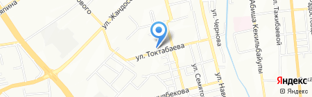 Айкидо Алма-Ата Ивама-рю на карте Алматы