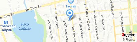 Жамиля на карте Алматы
