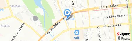Ушкын.kz на карте Алматы