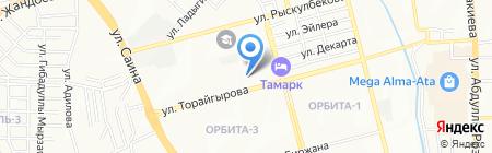 Колледж им. Сулеймана Демиреля на карте Алматы