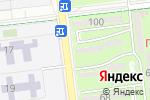 Схема проезда до компании Производственная компания в Алматы