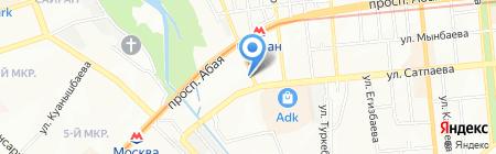 Кулинария на карте Алматы