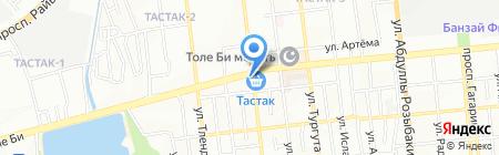 Алима ТОО на карте Алматы