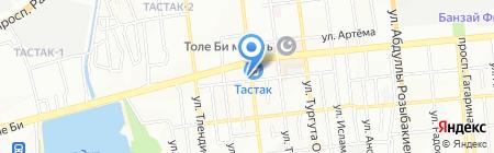 Артём на карте Алматы