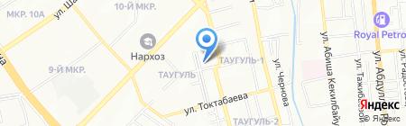 Таза Алем на карте Алматы