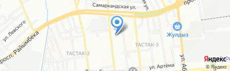 Diba-Dent на карте Алматы