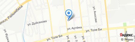 Помидор на карте Алматы