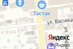 Схема проезда до компании BayKaz Electric в Алматы