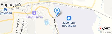 БУРУНДАЙАВИА на карте Боралдая
