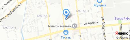 Транспортная компания на карте Алматы