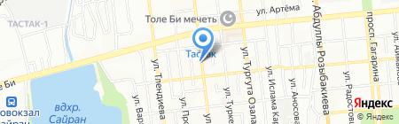 Мастер на карте Алматы