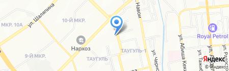 Общеобразовательная школа №72 на карте Алматы