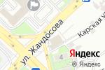 Схема проезда до компании Белый Журавль в Алматы