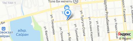 A & T на карте Алматы