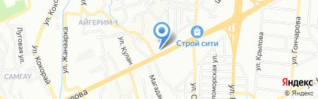 FastService на карте Алматы