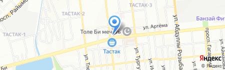 Diks на карте Алматы