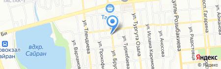 Hammer на карте Алматы