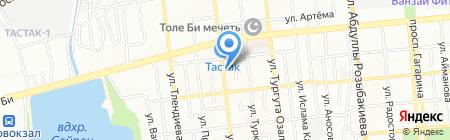 Арса и К на карте Алматы